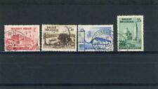 Belgium 1938 Scott #318-21 Canceled