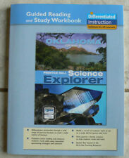 Prentice Hall SCIENCE EXPLORER gr.8/8th NEW Guided Reading/Study Workbook 2007