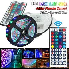 Amill 10M 3528 Light Strip SMD RGB Flexible LED 600LEDs 44 Key Remote Controller