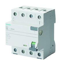 Siemens FI-Schutzschalter A 4p 400V 63A 0,03A 4TE DIN-Schiene(REG)... 5SV3346-6