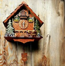 Engstler Cuckoo Clock Musical Quartz Movement Made in Germany Brand