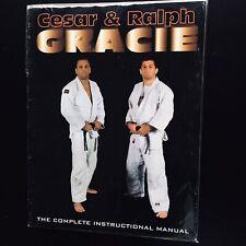 Cesar And Ralph Gracie The Complete Instruction Manual Rare Gracie Jiu Jitsu