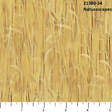 Naturescapes Quilt fabric Cotton by Northcott 21380-34 Yellow Grass