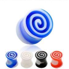 Piercings espiral de color principal multicolor