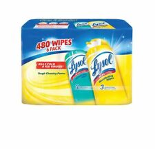 Lysol Disinfecting Wipes Lemon&Fresh Scents 80 Wipes 6ct. |NO SALES TAX|