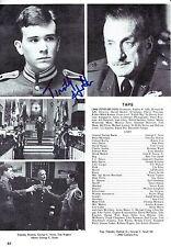 Timothy Hutton signed Magazine Page Vintage - TAPS - Oscar Winner