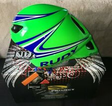 NEW In Box Rudy Project Wingspan Green Unisize Cycling Time Triathlon Helmet