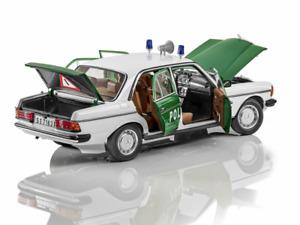 Mercedes Benz W123 Polizei Norev 1:18 Modell Limitiert 1000stk. Norev