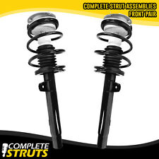 01-06 BMW 325Ci E46 Front Quick Complete Struts & Coil Springs w/ Mounts Pair x2