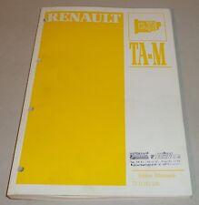 Werkstatthandbuch Automatikgetriebe Renault 5 9 11 19 18 20 21 25 Trafic Fuego