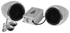 Boss Audio MC420B Motorcycle ATV Bluetooth Amp & Speakers 600 watt Stereo
