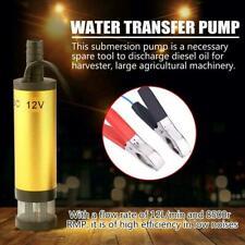 Pompa Travaso Liquido Gasolio Olio Acqua Diesel 12V 1.5A Elettrica per Tosaerba