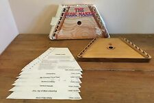The Music Maker HARP DULCIMER Musical Instrument WITH BOX, Includes 12 Songs
