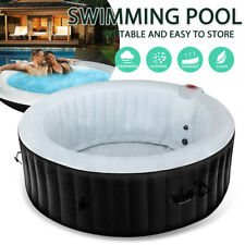 4 Adult Portable Spa Indoor Massage Hot Bath Tub Swimming Pool Inflatable Relax