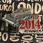 HRC Hard Rock Cafe VIP Rewards 2014 Pin