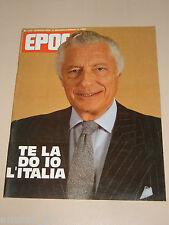 EPOCA=1984/1747=GIANNI AGNELLI=TOQUINHO=BRASILE=ZINGA=MONDO BILIARDO=