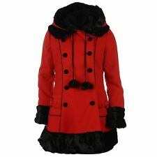 Hell Bunny Patternless Coats & Jackets for Women