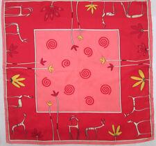 Joli foulard soie vintage Scarf 50 x 50 cm 42dd7158935