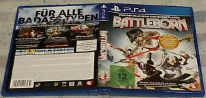 Battleborn German Version Replacement Game Case For Sony PS4 PlayStation 4