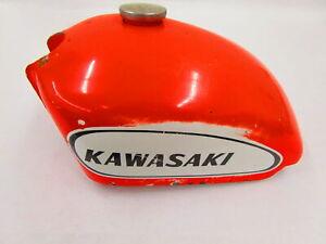 1970 KAWASAKI G3TR BUSHMASTER GAS FUEL TANK CELL PETROL RESERVOIR