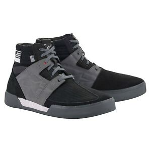 ALPINESTARS PRIMER Blk/Gry Vented MOTORCYCLE RIDE SHOES SIZE 13 AS2650021173813