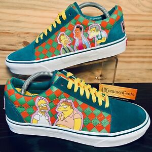 Vans x The Simpsons Moe's Tavern Old Skool Men's Shoes Size 9.5 NEW IN BOX RARE