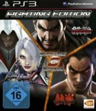 Playstation 3 Fighting Edition SoulCalibur V + Tekken Tag 2 + Tekken 6 Neuwertig