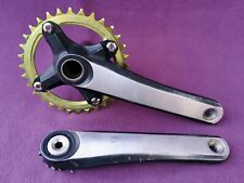 Shimano XTR FC-M970 M970 9 speed cranks chainset crankset 172.5mm raceface NW