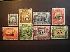 ADEN 1951 QUAITI STATE SHIHR & MUKALLA  NEW CURRENCY SET  FINE MINT SG20/7