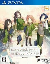 Used PS Vita Ima Sugu Onii-chan ni Imouto datte SONY PLAYSTATION JAPANESE IMPORT