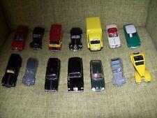 Lot de 14 voitures miniatures 1/43 pour pièces ou à restaurer