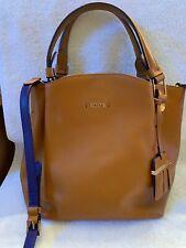 Authentic TOD's Medium Leather Flower Handbag