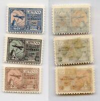 Lithuania 1922 SC C18-C20 mint . rtb6285