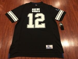 Majestic Men's Andrew Luck Indianapolis Colts Hashmark Jersey Large L Football