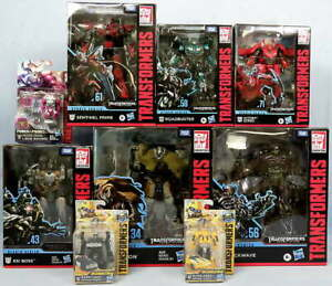 Lot 9 Transformers Dark Moon Studio Series Action Figures Megetron Shockwave