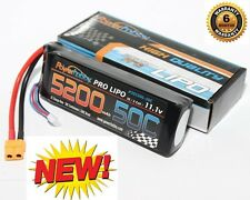 RC TRAXXAS 3S 11.1V 5200mAh 50C Lipo Battery Pack w XT60 Connector / Plug 3-Cell
