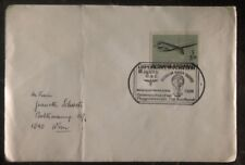 1981 Austria First Day Balloon Airmail Fdc Cover To Vienna Oac Cancel