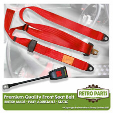 Front Static Seat Belt For Ford Escort Mk1 Saloon 1968-1975 Red