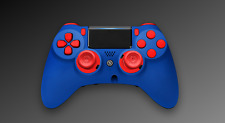 Scuf Impact Gaming ps4 controlador azul pad Limited Blue Red Edition