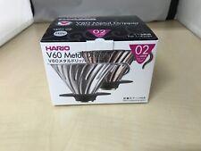 HARIO V60 metal coffee dripper Coffee drip 1 - 4 glasses Silver VDM-02HSV
