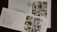 H441 Sweden 1993 Swedish Royal Family MNH stamp booklet + FDC Czeslaw Slania