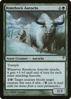 Rimehorn Aurochs MTG Magic the Gathering COLDSNAP Rimehorn Aurochs