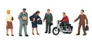 Bachmann - City People with Motorcycle - O scale