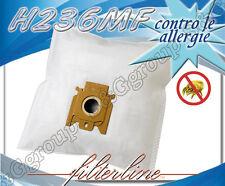 H236MF 5 sacchetti filtro microfibra x Hoover Discovery T 6072