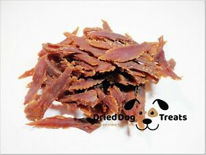 [200g] Dried 98% Duck Chewable Breast Strips - chews, treats, snacks