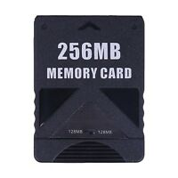 PS2 Memory Card 256MB High Speed Storage For Sony PlayStation 2 Game Saves