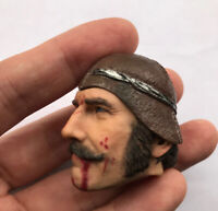 """1/6 Scale Gangs of New York Butcher War damage Head Sculpt  For 12"""" Male Action"""