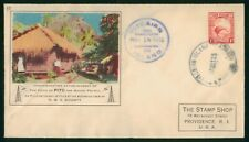 MayfairStamps New Zealand 1938 Voice of PITC Communications Cover wwr5503