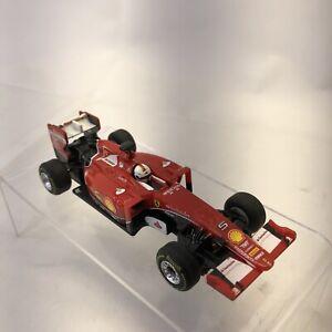 Vettel's 2015 Ferrari SF15-T F1 Formula 1 UPS Shell Grand Prix Carrera Slot Car