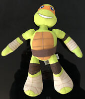 Teenage Mutant Ninja Turtles Michelangelo Plush Half Shell Heroes TMNT 12""